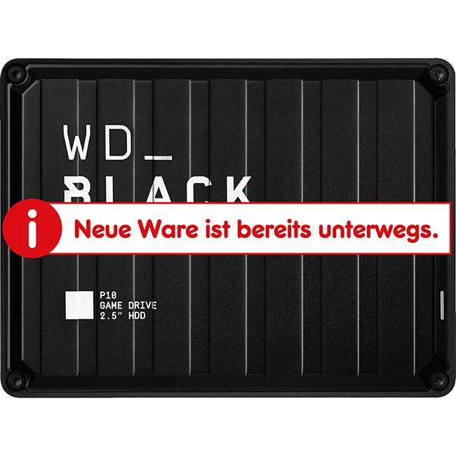 WD Festplatte Black P10 Game Drive 2 TB - Bild 1