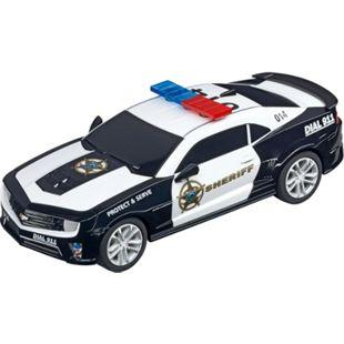 "Carrera Rennwagen GO!!! 2015 Chevrolet Camaro ZL1 ""Sheriff"" - Bild 1"