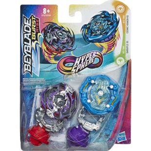 Hasbro Geschicklichkeitsspiel Beyblade Burst Rise Hypersphere Doppelpack - Bild 1