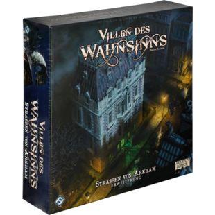 Asmodee Brettspiel Villen des Wahnsinns - Die Straßen von Arkham - Bild 1