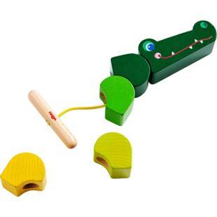 HABA Geschicklichkeitsspiel Fädelspiel Kroko - Bild 1