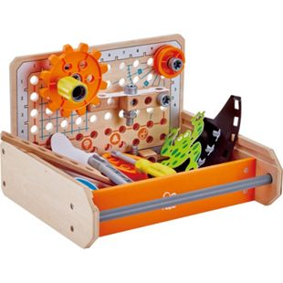 HAPE Kinderwerkzeug Tüftler Werkzeugkasten - Bild 1