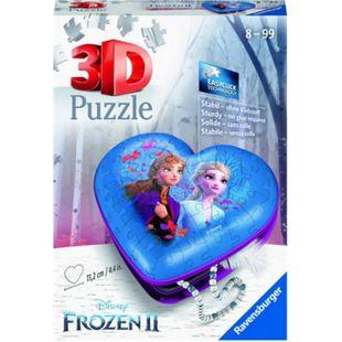 Ravensburger Puzzle 3D Puzzle Herzschatulle - Frozen 2 - Bild 1