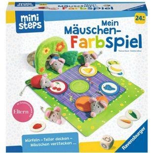Ravensburger Würfelspiel ministeps: Mein Mäuschen-Farbspiel - Bild 1
