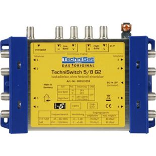 TechniSat Multischalter TECHNISWITCH5/8 G2 M.NT - Bild 1