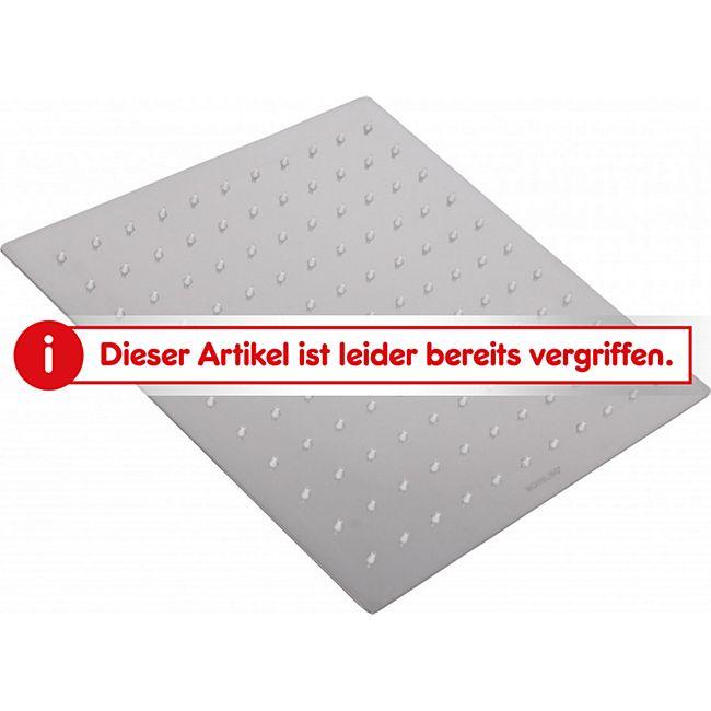 Wohnling Luxus Edelstahl Einbau Regendusche - Regenbrause 30 x 30 cm ...