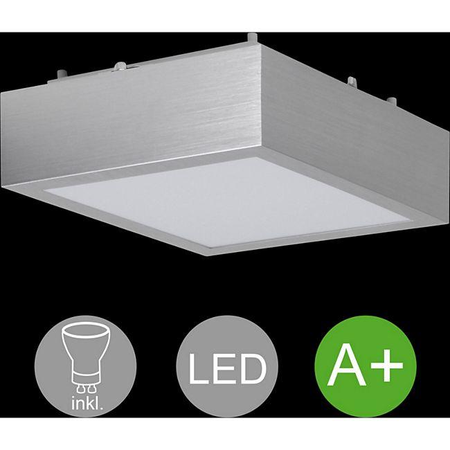Wohnling 1-flammige LED Deckenlampe inkl. 1 x 12 Watt Leuchtmittel Deckenleuchte Warmweiß IP20 LED Lampe - Bild 1