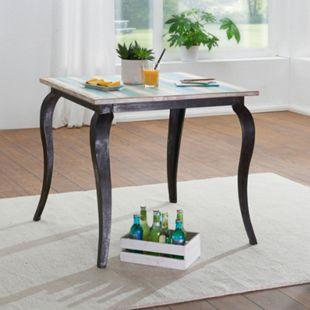 Wohnling Esstisch LINA Massivholz in 2 verschiedenen Größen Esszimmertisch Küchentisch Massivholztisch Natur - Bild 1