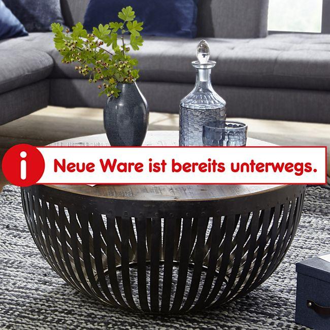Wohnling Couchtisch NISHA 70x33x70 cm Holz Metall Wohnzimmertisch Industrial Sofatisch Metallgestell Lounge - Bild 1