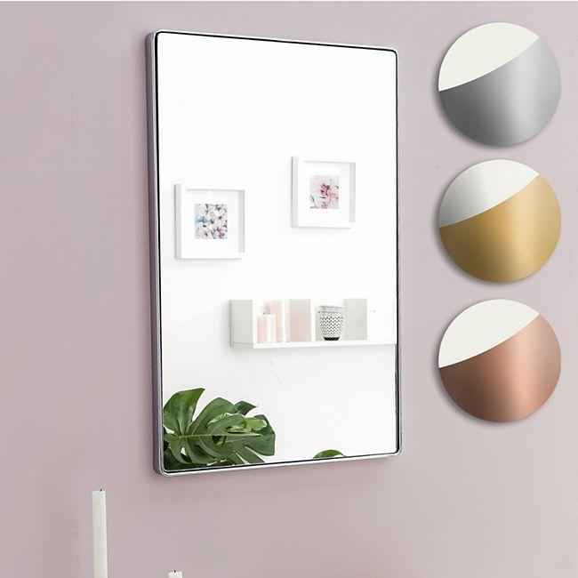 Gut gemocht Wohnling Wandspiegel WL5.783 Gold 50 x 80 x 4 cm Spiegel Modern UR26