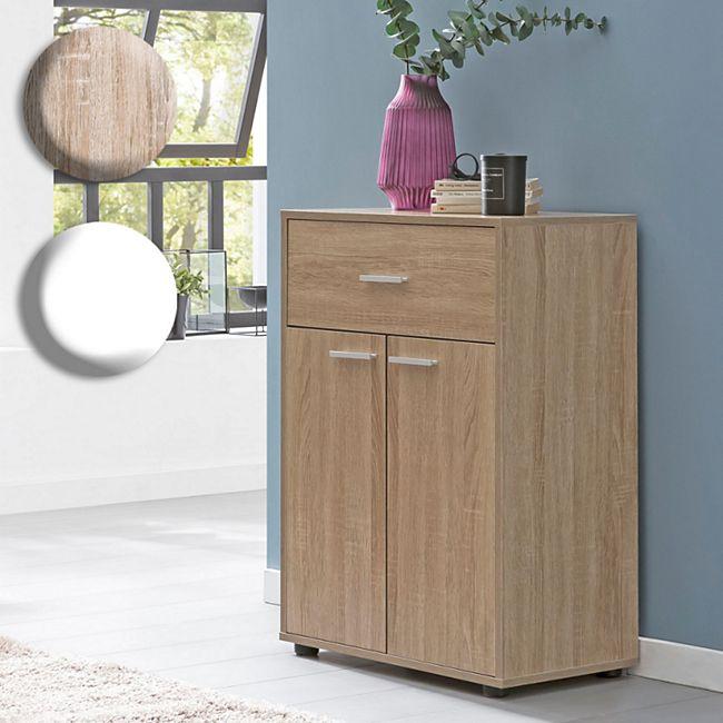 Wohnling Sideboard 60x84x35cm Kommode Anrichte Mehrzweckkommode Standschrank Wohnzimmer Mehrzweckanrichte - Bild 1