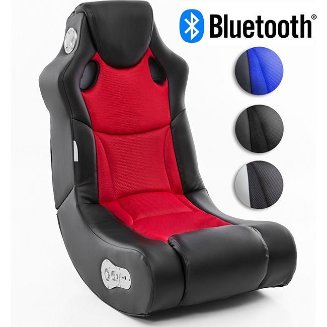 Wohnling BOOSTER Soundsessel 2.1 mit Bluetooth Multimedia Rocking Chair Soundchair - Bild 1
