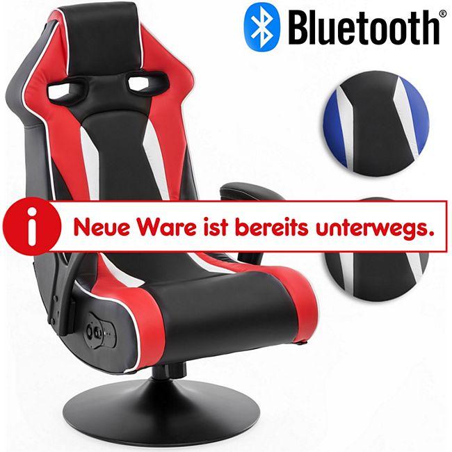 Wohnling Soundchair SPECTER II mit Bluetooth Musiksessel mit Lautsprechern Multimediasessel Music Chair - Bild 1