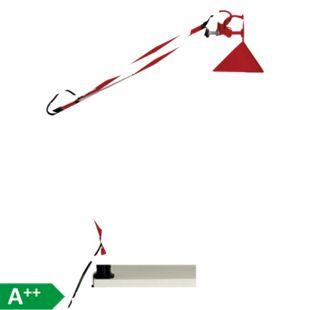 Hobby Schreibtischklemmleuchte rot - Bild 1