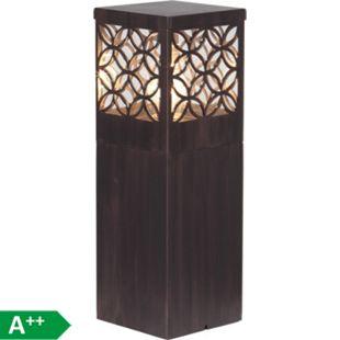 Lida Außensockelleuchte 47cm rostfarbend - Bild 1