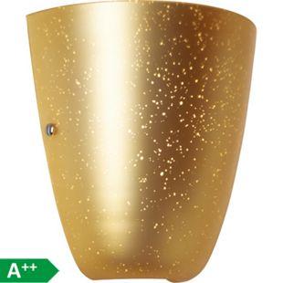 Gleam Wandleuchte gold - Bild 1