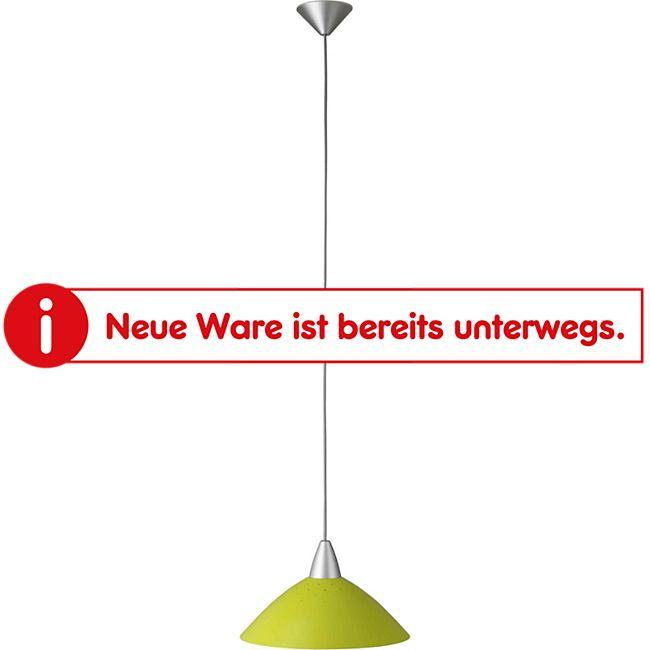 Logo Pendelleuchte 35cm silber/grün - Bild 1