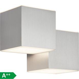 Gillian LED Wandleuchte 4flg alu - Bild 1