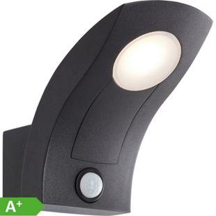 Brynna LED Außenwandleuchte stehend Bewegungsmelder anthrazit - Bild 1