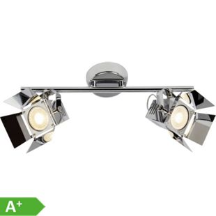 Movie LED Spotrohr 2flg chrom - Bild 1