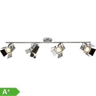 Movie LED Spotrohr 4flg chrom - Bild 1