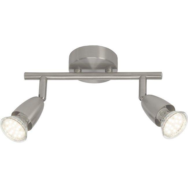 Amalfi LED Spotrohr 2flg eisen - Bild 1