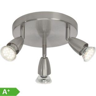 Amalfi LED Spotrondell 3flg eisen - Bild 1