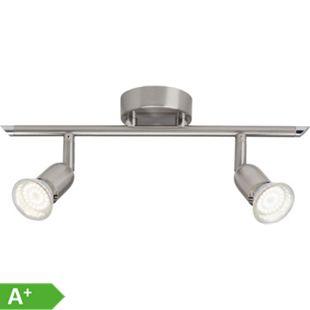 Loona LED Spotrohr 2flg eisen - Bild 1