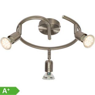 Loona LED Spotspirale 3flg eisen - Bild 1