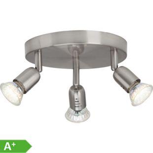 Loona LED Spotrondell 3flg eisen - Bild 1
