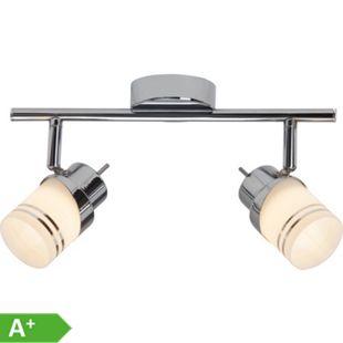 Heda LED Spotrohr 2flg eisen/chrom - Bild 1