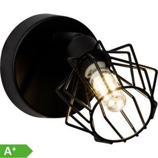 Noris LED Wandspot schwarz - Bild 1