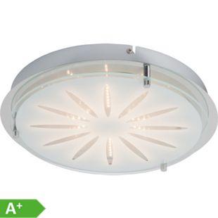 Cathleen LED Wand- und Deckenleuchte 33cm chrom - Bild 1