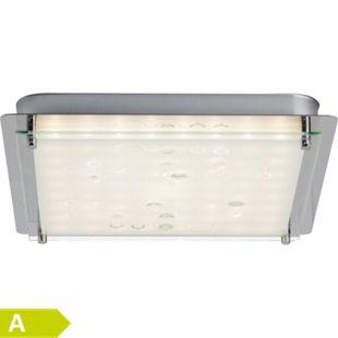 Salvia LED Wand- und Deckenleuchte 33x33cm chrom/weiß - Bild 1