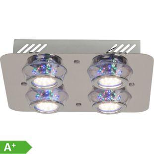 Kelly LED Deckenleuchte 4flg chrom - Bild 1