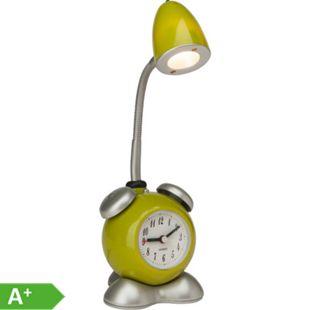 Pharrell LED Tischleuchte Wecker grün - Bild 1