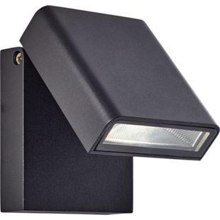 Toya LED Außenwandstrahler schwarz - Bild 1