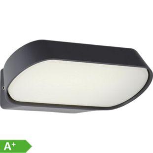 Samira LED Außenwandleuchte schräg schwarz matt - Bild 1