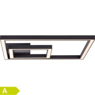 Quon LED Wand- und Deckenleuchte 40x40cm schwarz - Bild 1