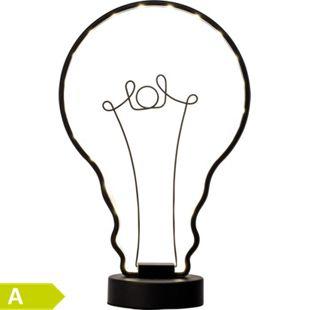 Catrix LED Tischleuchte schwarz - Bild 1
