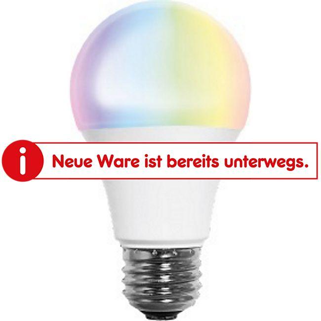 LED-Normallampe A70 E27 1050lm 10W warmweiß 2700K + RGB Tuya-App - Bild 1