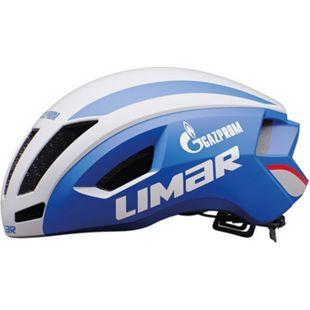 Renn-Helm Air Speed blau-weiß - Bild 1