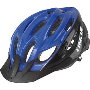 Fahrradhelm Scrambler blau/schwarz - Bild 1