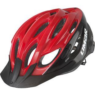 Fahrradhelm Scrambler rot/schwarz - Bild 1