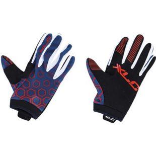 Langfingerhandschuh MTB CG-L14 blau-rot - Bild 1
