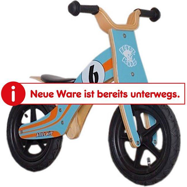 "Rebel Kidz Lernlaufrad ""WOOD AIR""  12 Zoll - Bild 1"
