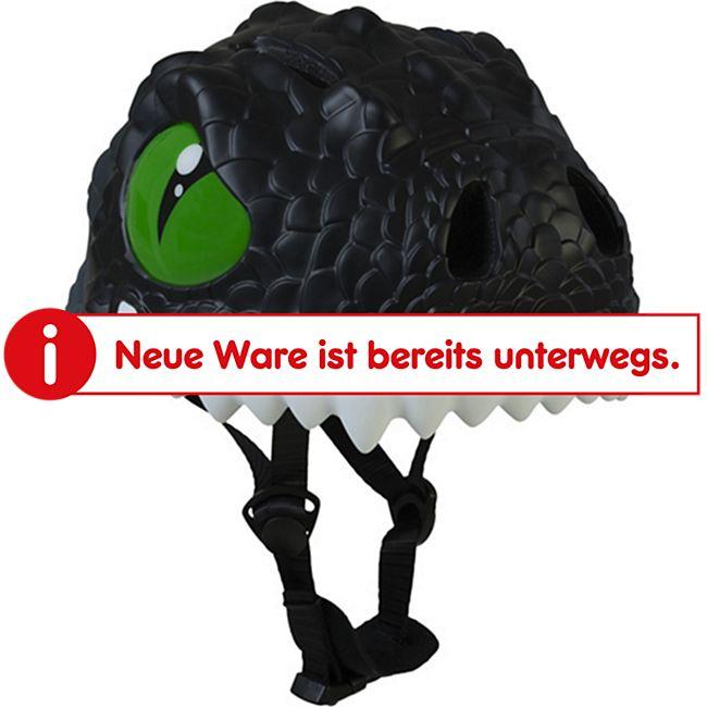 "Helm ""Drache"" schwarz - Bild 1"