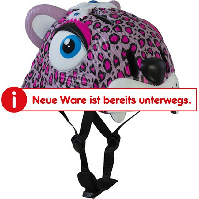 "Helm ""Leopard"" rosa - Bild 1"