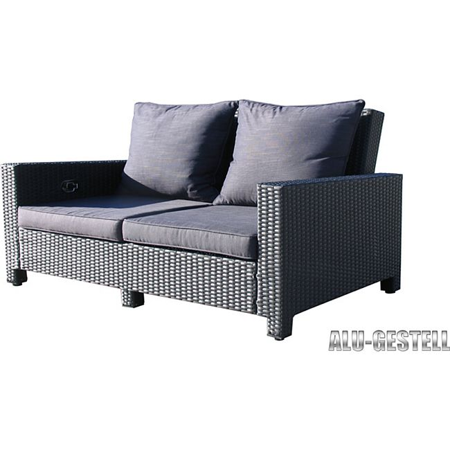 famous home rattan lounge sofa 200cm couch futon. Black Bedroom Furniture Sets. Home Design Ideas