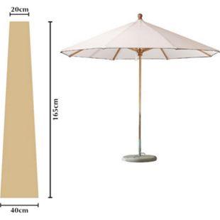 Grasekamp Schutzhülle Sonnenschirm bis ca. 300 cm  Ø Länge 165 cm Beige - Bild 1